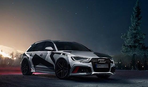 Jon Olsson S Winter Ready Audi Rs6 Wagon Men S Gear