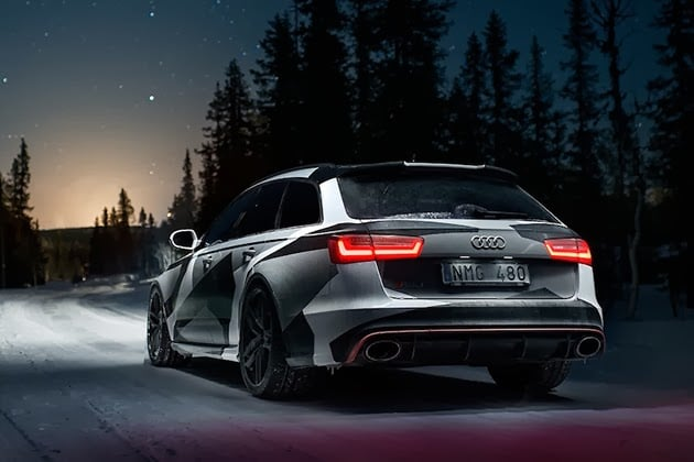 Jon Olsson S Winter Ready Audi Rs6 Wagon Men S Gear