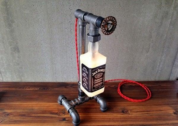 JACK DANIELS BOTTLE LAMP | Men's Gear