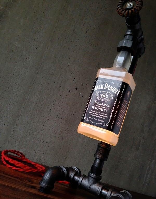 Jack Daniels Bottle Lamp Men S Gear