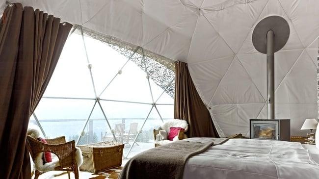 Whitepod Eco-Luxury Hotel In The Swiss Alps 2