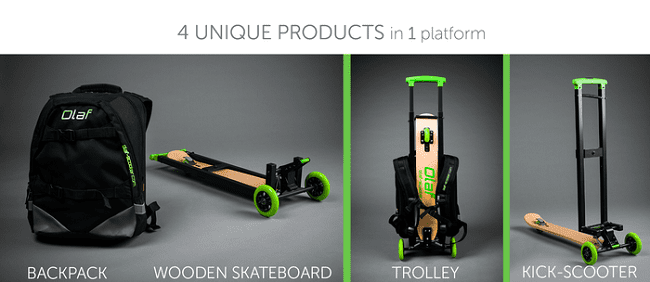 olaf scooter presentation