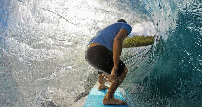 surf gopro hero4 black