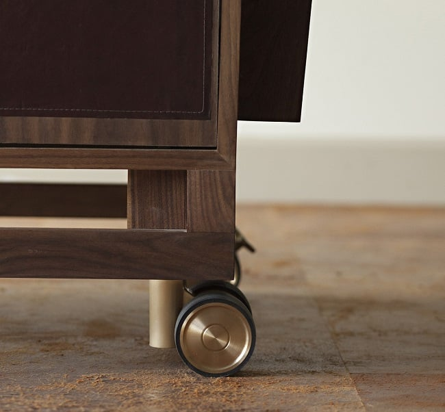 The Sidecar Bar Cart by Moore & Giles 4