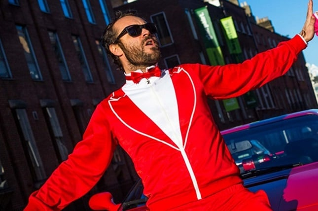 The 'Red Dragon' Traxedo Christmas Suit 1