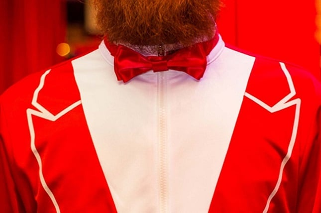 The 'Red Dragon' Traxedo Christmas Suit 2