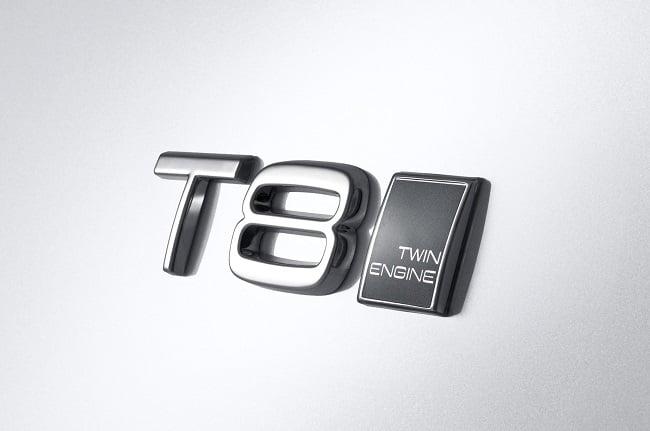 Volvo XC90 T8 badge