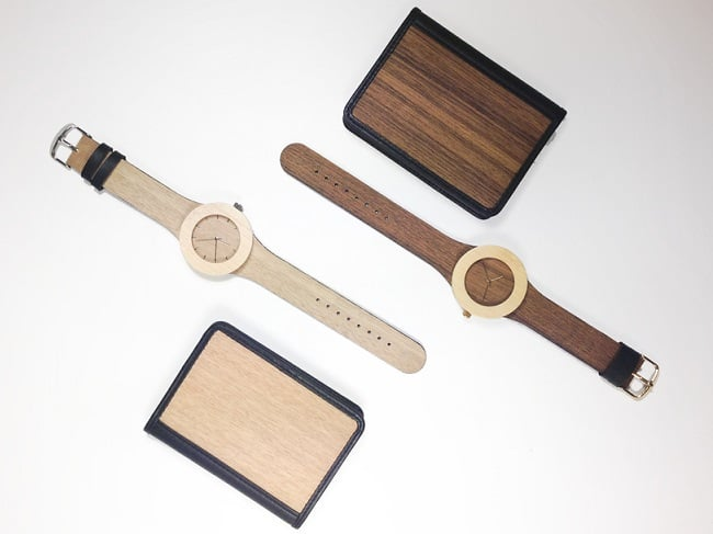 Carpenter Collection Wood Watches  (3)