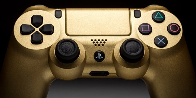 ColorWare 24K Gold DualShock 4 & Xbox One Controllers 1