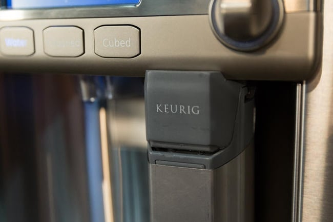 GE Cafe Refrigerator with Keurig K-Cup Brewing System 3