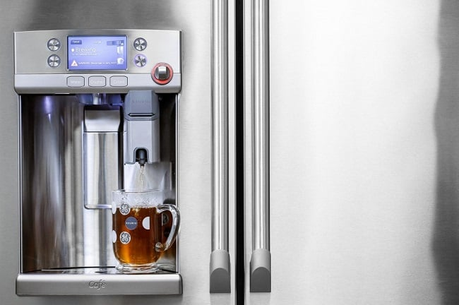 GE Cafe Refrigerator with Keurig K-Cup Brewing System 5