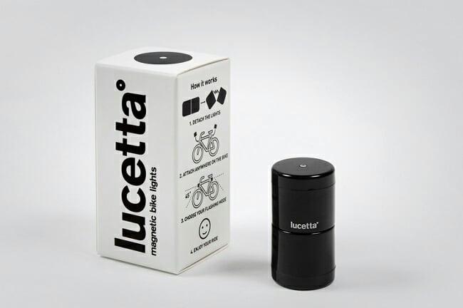 Lucetta Magnetic Bike Lights 2