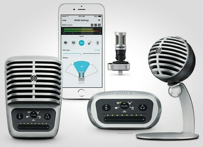 Shure MOTIV Digital Microphones 1 (2)