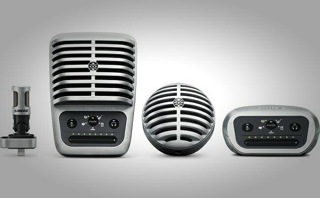 Shure MOTIV Digital Microphones 3