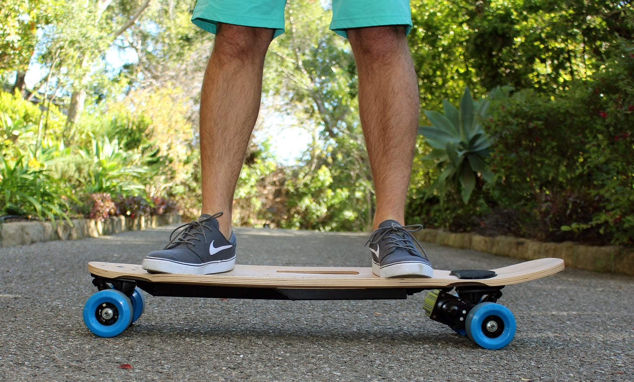 ZBoard 2 weight sensing electric skateboard 1