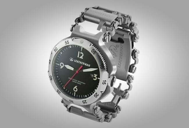 Leatherman Tread QM1 Multi-Tool Watch 1