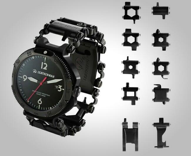 Leatherman Tread Qm1 Multi Tool Watch Men S Gear