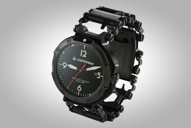 Leatherman Tread QM1 Multi-Tool Watch