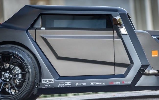 Sbarro Eight Hotrod Concept 12
