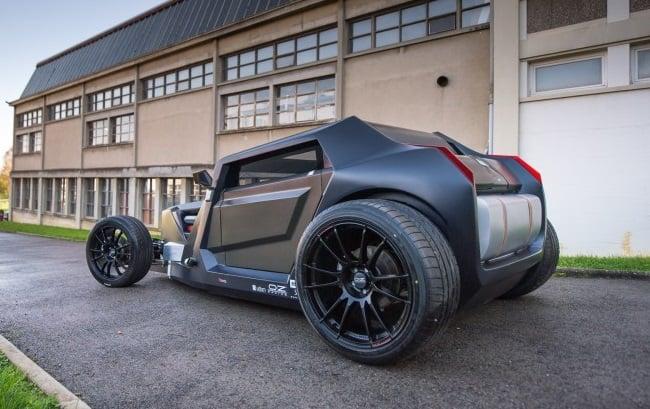 Sbarro Eight Hotrod Concept 8