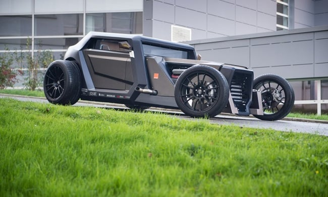 Sbarro Eight Hotrod Concept 9