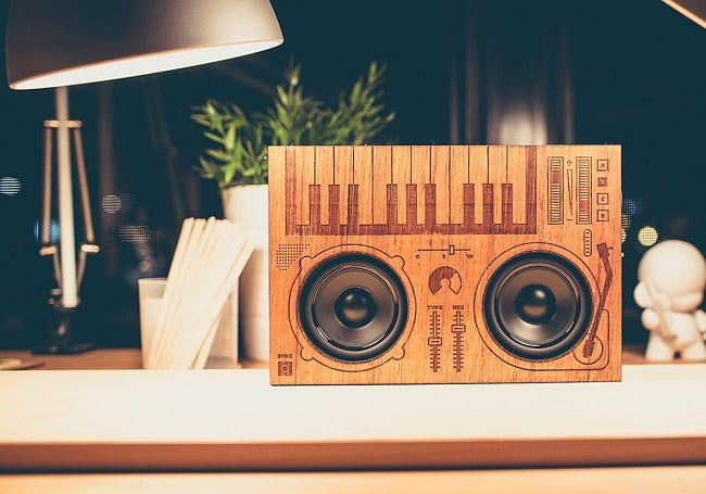 The Wooden Boombox 2