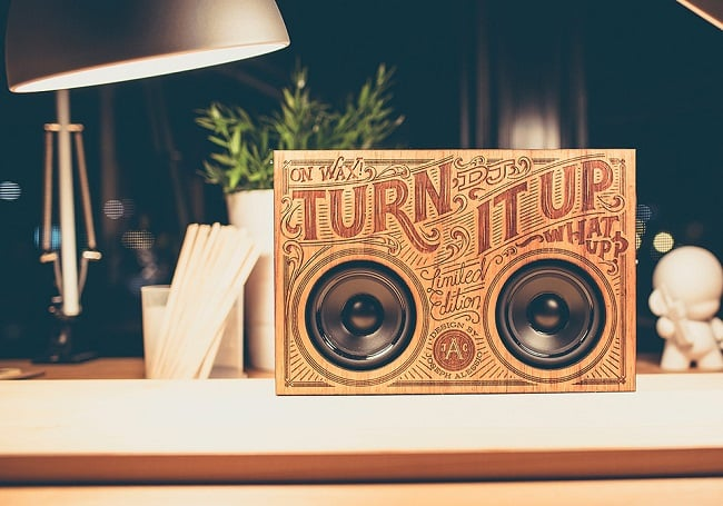 The Wooden Boombox 4