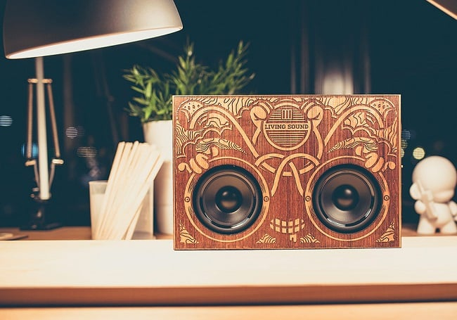 The Wooden Boombox 5