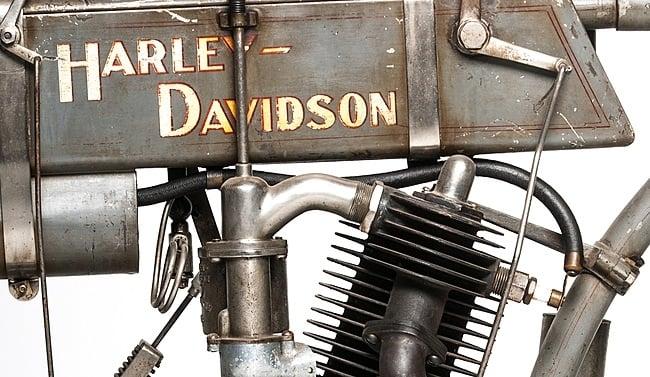 1907 Harley-Davidson Motorcycle 5