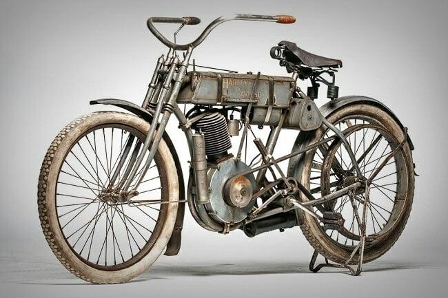 1907 Harley-Davidson Motorcycle