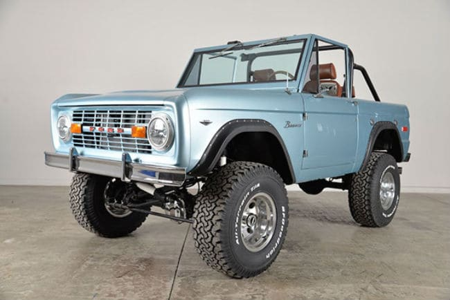 Classic Ford Broncos 5