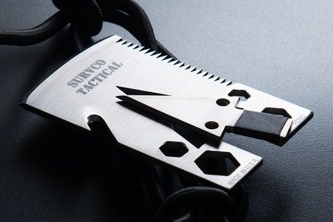 SURVCO Tactical Credit Card Axe 4