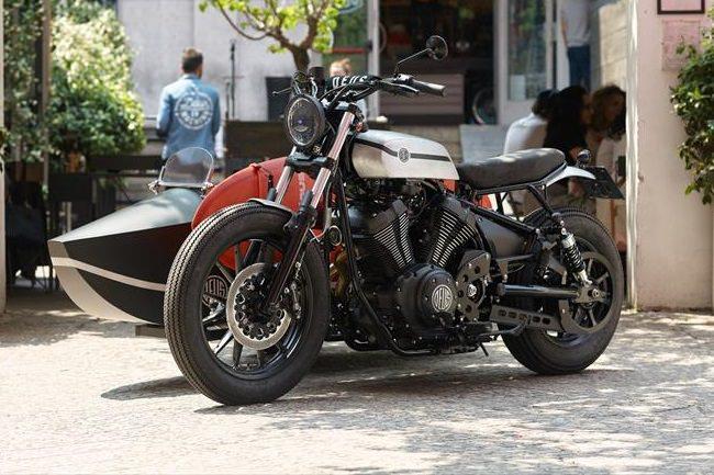 Deus Yard Built XV950 'D-Side' Motorcycle 1