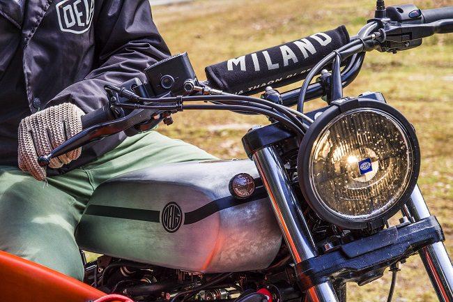 Deus Yard Built XV950 'D-Side' Motorcycle 10