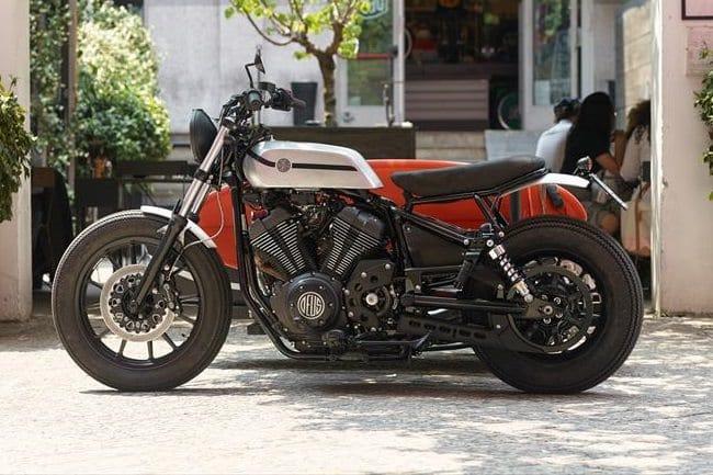 Deus Yard Built XV950 'D-Side' Motorcycle 2