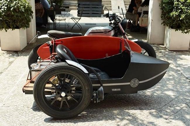 Deus Yard Built XV950 'D-Side' Motorcycle 3