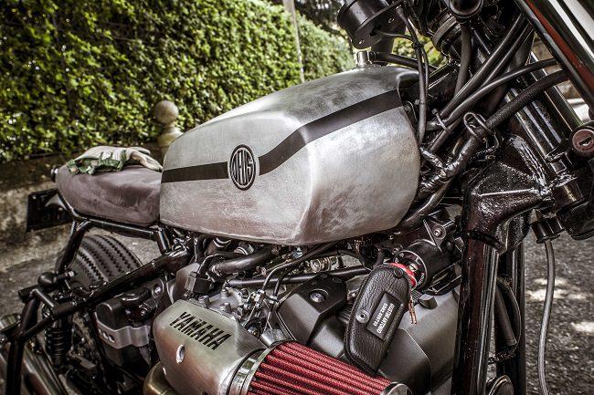 Deus Yard Built XV950 'D-Side' Motorcycle 5