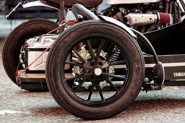 Deus Yard Built XV950 'D-Side' Motorcycle 8