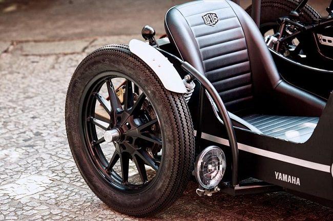 Deus Yard Built XV950 'D-Side' Motorcycle 9