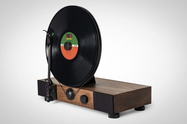 Floating Record Vertical Turntable 1