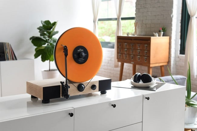 Floating Record Vertical Turntable 11