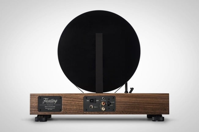 Floating Record Vertical Turntable 3