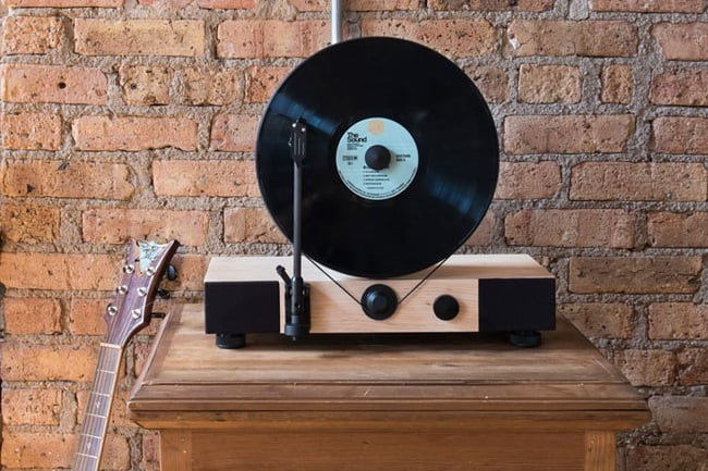 Floating Record Vertical Turntable 7