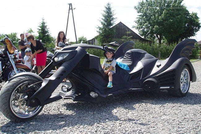 Game Over Cycles Batman Trike 9