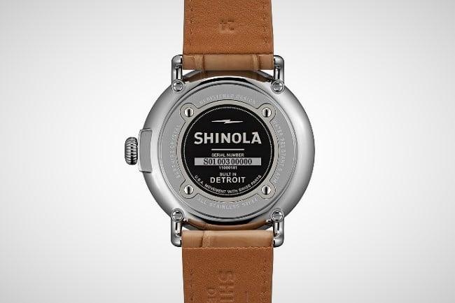 Shinola Runwell Moon Phase Watch 1