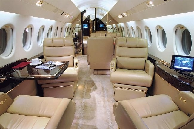 Charter-A Private Jets interior 3