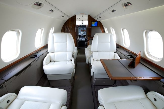 Charter-A Private Jets nterior