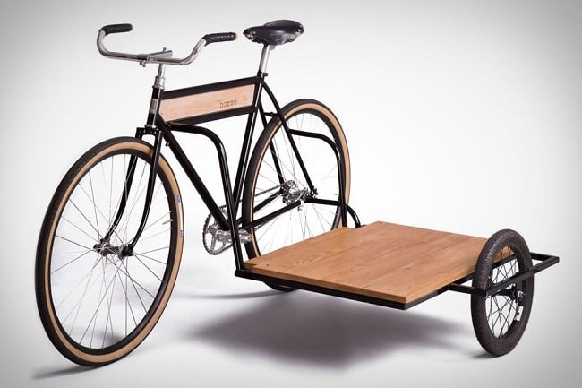 Horse Sidecar Bicycle