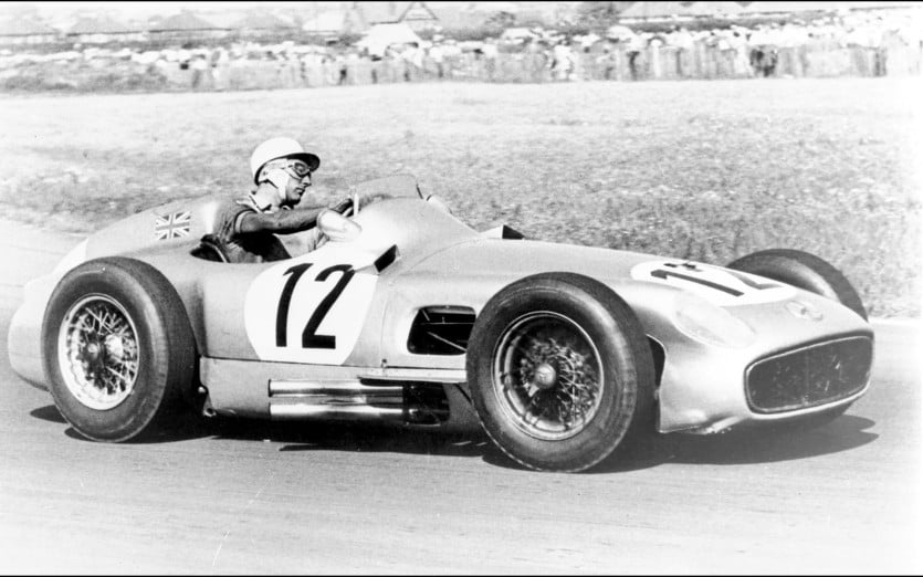 1954-1955-Mercedes-Benz-W196-R-Silver-Arrow-British-Grand-Prix-1955