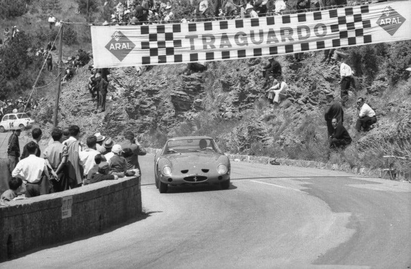Chassis 3851 at the 1964 Coppa Consuma hillclimb